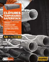 brochure Saferstack clôtures temporaires