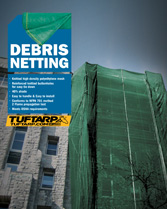 Download brochure debris netting