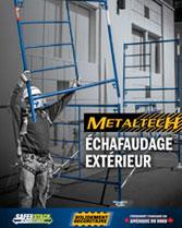 Télécharger brochure Echafaudage exterieur