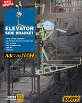 Download brochure elevator side bracket