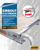 Télécharger brochure Plates-formes embout d'éxtremité