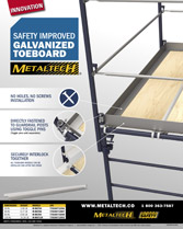 Download brochure galvanized toeboard