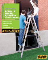 Download brochure Echelle multiposition télescopique
