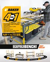 Télécharger la brochure Baker Scaffoldbench
