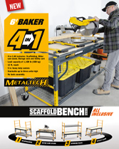Download brochure Baker Scaffoldbench