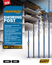 Download brochure shoring post