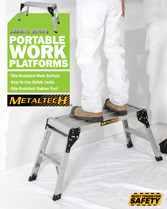 Download brochure portable work platform