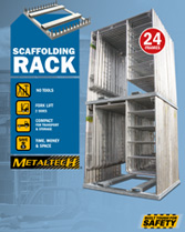 Download brochure scaffolding rack
