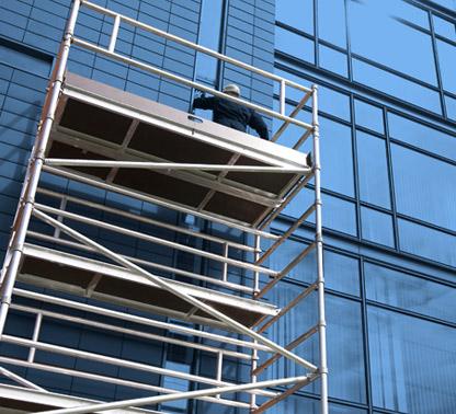 Alu scaffolding