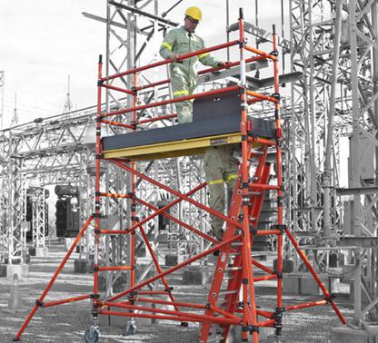 Fiberglass Scaffolding
